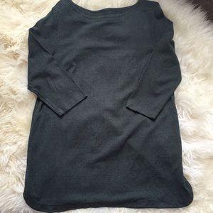 J Jill Ponte Boatneck Stretch Knit Tunic